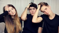 Guess The YouTuber, PointlessBlog, Zoella, and ThatcherJoe