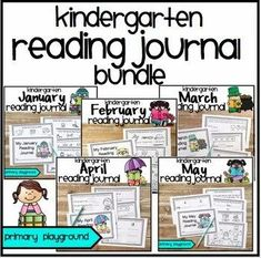 Kindergarten ELA Reading Journal Bundle - Primary Playground