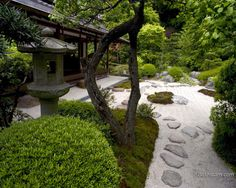 Japanese gardens. The neatness, calmness, delicate trees, rocks, water and moss. Beautiful and Zen. <3