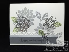 Flourishing Phrases, Flourish Thinlits Dies, Stampin' Up! Sentiment not from Stampin' Up!