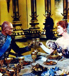 Yul Brynner & Deborah Kerr in The King and I (1956)