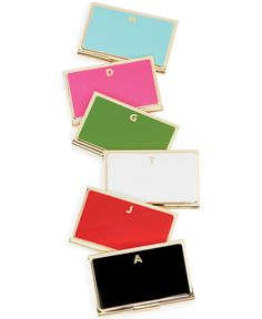 For the young businesswoman: kate spade card holders
