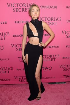 Gigi Hadid Photos - 2015 Victoria's Secret Fashion After Party - Pink Carpet Arrivals - Zimbio