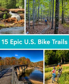 The 15 Best Road and Mountain Bike Trails in the U.S.