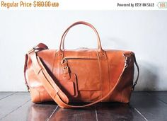 SUMMER SALES weekend bag shoulder bag handmade leather bag