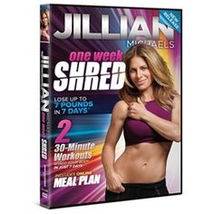 Jillian Michaels: One Week Shred #health #fitness #fit #TagsForLikes #TFLers #fitnessmodel #fitnessaddict #fitspo #workout #bodybuilding #cardio #gym #train #training #photooftheday #health #healthy #instahealth #healthychoices #active #strong #motivation #instagood #determination #lifestyle #diet #getfit #cleaneating #eatclean #exercise #fitnessfly