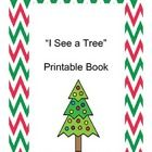 This Christmas tree themed printable book focuses on colors. On each page, the tree is in black and white so that students can color the tree and t...