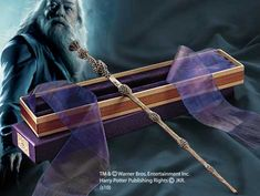 Dumbledore's Wand with Ollivanders Box :D