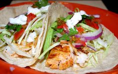 Fish Tacos recipe from Bobby Flay that has a killer marinade that makes such a delicious taco that is so healthy and gluten free.