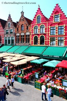 Grote Market, #Bruges This was my hotel - oh how I miss this beautiful place xx