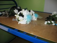 The little girls' bouquets for Joey and Jamie's wedding.