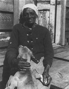 Katie Brown, former slave on Sapelo Island, Georgia 1939