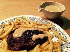 Steak Moutarde Flambé | A true classic from Copenhagen's famed Belle Terrasse