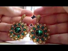 Orecchini Kronos Collaborazione con Perlinebijoux (DIY - Kronos Earrings) - YouTube
