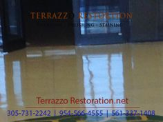 Find This Pin And More On Terrazzo Floor Care By Terrazzocarefl.