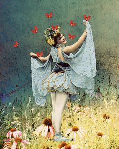Butterflies and Catrin Welz-Stein