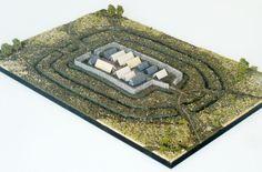 3D-Rekonstruktion & Archäologiemodell Altheimer Erdwerk (Jungsteinzeitliche Wall-Graben-Anlage), für das Museum Stadtresidenz Landshut 2012