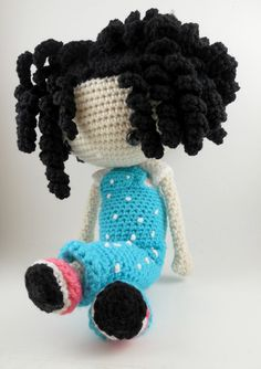 girl the zizidora doll amigurumi pattern doll crochet pattern ...