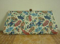 Vintage 1950s1960s Clutch Purse Handbag by looseendsvintage, $20.00