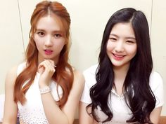 Sally and Hyeyeon