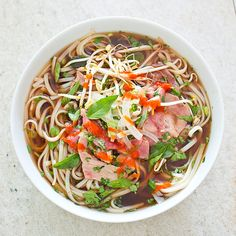 Vietnamese Beef Pho - Cook's Illustrated