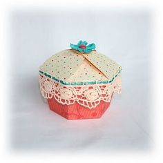 """Check out the cupcake box tutorial - file reworked """"refrosted"""" to make it a little fuller on the top"""