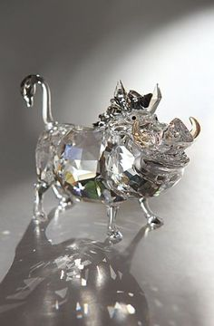 Swarovski Crystal Disney Collection, The Lion King, Pumbaa Swarovski Crystal…