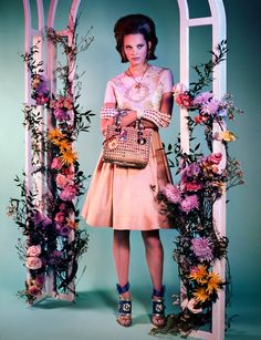 Lots of camp her but love the shoes and the gloves and handbags are a 60's kind of look?  Belle of the Ball – Anouk De Heer models spring's most elegant, ladylike fashions for Mark Kean's latest work featured in the February/March edition of Wonderland Magazine. Garbed in the feminine creations of Valentino, Miu Miu, Christopher Kane
