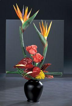 Bird of Paradise Boutonnieres | Birds of Paradise Vase