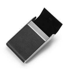 Business Men Credit Card Holder Case Wallet Carteira Metal Women Portable Pocket Big Capacity 25 ID Visiting Cards Holder Box. Yesterday's price: US $13.99 (12.27 EUR). Today's price: US $7.00 (6.14 EUR). Discount: 50%.