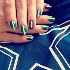 For Football fans! GO Cowboys! Nails for you