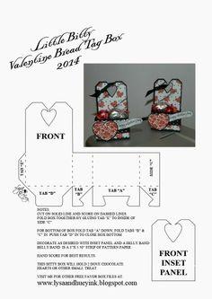 Itty Bitty Valentine Box 2014 Lysa & Huey Ink!