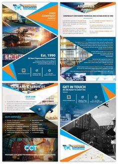 Company Profile Designers South Africa   Order Yours Now   Web Devine Brochure Design Layouts, Brochure Template, Flyer Template, Layout Design, Design Design, Corporate Profile, Business Profile, Presentation Folder, Presentation Design
