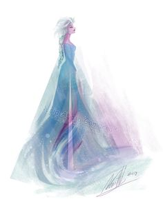 Elsa the Snow Queen by Iluvendure