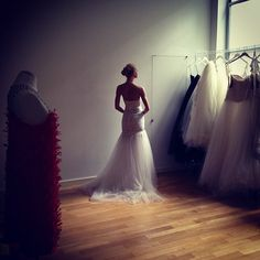 The lights are off - #Aimeé Bridal Spring 2013 #bridal #wedding #love - @francescaonline- #webstagram