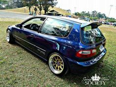 collection Honda Civic with a very luxurious, in 2017 this automotive enthusiasts. In today's world, lovers Modified extremely mad against his favorite vehicle. Honda Civic Hatchback, Honda Crx, Honda Civic Si, Civic Eg, Import Cars, Tuner Cars, Street Racing, Sweet Cars, Japanese Cars