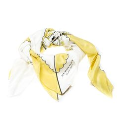 Buy 100% authentic Burberry Bright Yellow London Landscape Print Silk Square Scarf Burberry and enjoy offers up to 80% off. We offer quick delivery whether you're in UAE, KSA, Kuwait and worldwide! Bold Fashion, Fashion Brands, Top Luxury Brands, Burberry Scarf, Chanel Sunglasses, Designer Scarves, Landscape Prints, Square Scarf, Luxury Bags