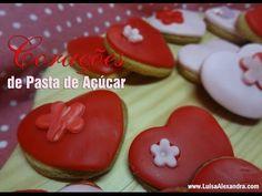 Luisa Alexandra: Corações de Pasta de Açúcar • Receita em VÍDEO