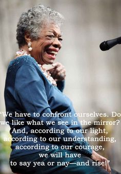 Maya Angelou was truly one sensastional, inpspirational, and phenomenal woman.  May she rest in peace. ♡