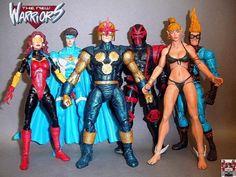 New Warriors (Marvel Legends) Custom Action Figure