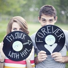 Cute engagement photo's & idea's!