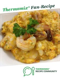 Recipe Thai Red Curry Prawn Risotto - ThermoFun by leonie, learn to make this recipe easily in your kitchen machine and discover other Thermomix recipes in Main dishes - fish. Prawn Curry, Creamy Pesto, Kitchen Machine, How To Cook Fish, Risotto Recipes, Food N, Bellini, Recipes Dinner, Fish Recipes