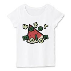 ラフT すいかTシャツ | デザインTシャツ通販 T-SHIRTS TRINITY(Tシャツトリニティ)