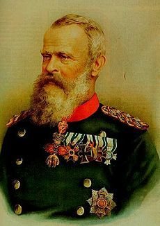 Prinzregent Luitpold (1821-1912) S: Archduchess Augusta of Austria. Had issue. House of Wittlesbach. He was de facto ruler of Bavaria from 1886-1912 due to the incapacity of his nephews King Ludwig II( for 3 days) & King Otto(for 26 yrs.).