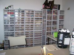 Confessions of a Ribbon Addict: My New Stamp Room!