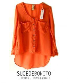Camisa FRAC naranja