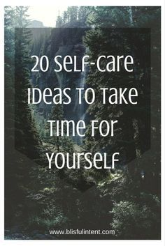 Take time today to take a break from the never ending to-do list and focus on self-care for yourself.