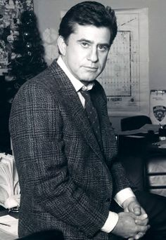 """James Farentino (1938 - 2012) He appeared in the TV mini-series """"Jesus of Nazareth"""" and the movie """"The Final Countdown"""", he played Mr. Beck on a number of episodes of """"Melrose Place"""""""