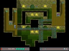 Screenshot from Mr. Smoozles Goes Nutso, a game I created.  Steve Ince
