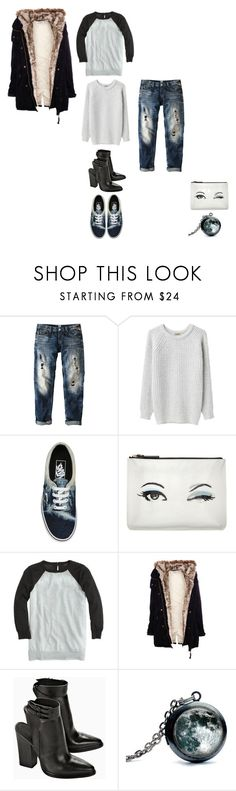 """""""fall musts"""" by thaloblue ❤ liked on Polyvore featuring Replay, Peter Jensen, Vans, Kate Spade, J.Crew, Pull&Bear, casual and nowlistening"""